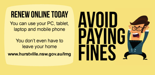 Avoid paying fines